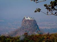 Tuang Kalat Monastery near Mount Popa