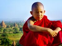 Bagan Novice Monk
